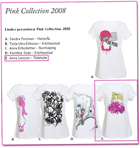 Grattis Anna - Pink Collection