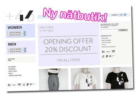+46 Online Store