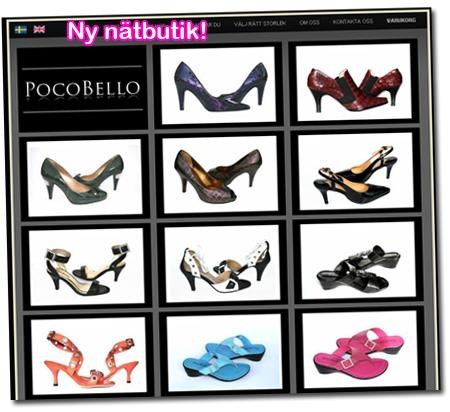 Ny nätbutik: PocoBello