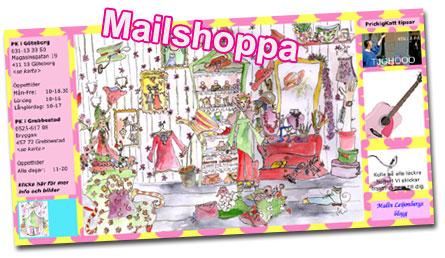 Mailshoppa hos Prickigkatt