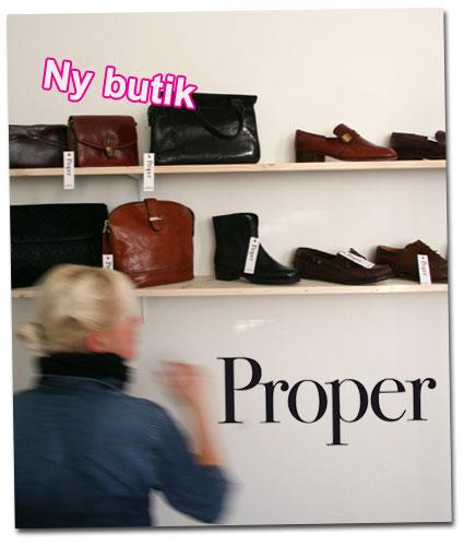 Ny butik i Göteborg: Proper