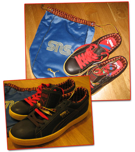 Samiska sneakers från Puma