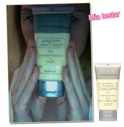 Mia testar: Robanda Anti-Aging Hand Cream