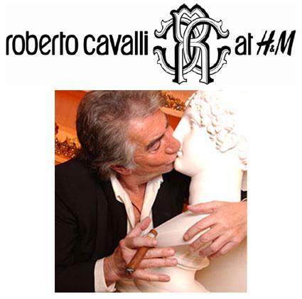 Roberto Cavalli åt H&M