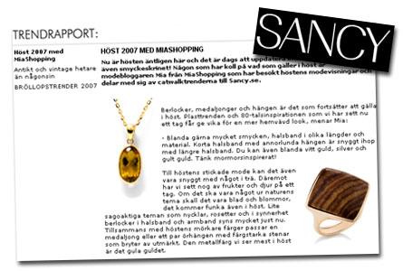 Trendrapport hos Sancy