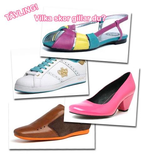 Tävling: Vilka skor gillar du?