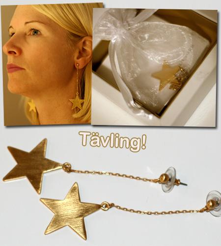 Tävling: Stjärnörhängen från Gold Digger