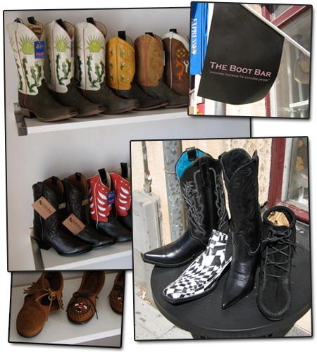 Ny butik i Stockholm: The boot bar