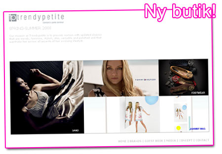 Ny butik i Stockholm: Trendypetite