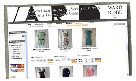 Wardrobe Stockholms nätbutik