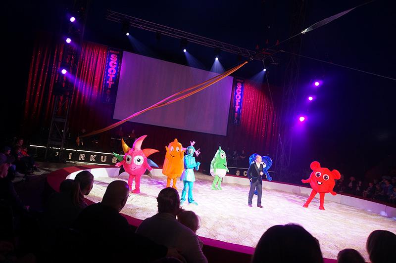 babblarna på cirkus scott