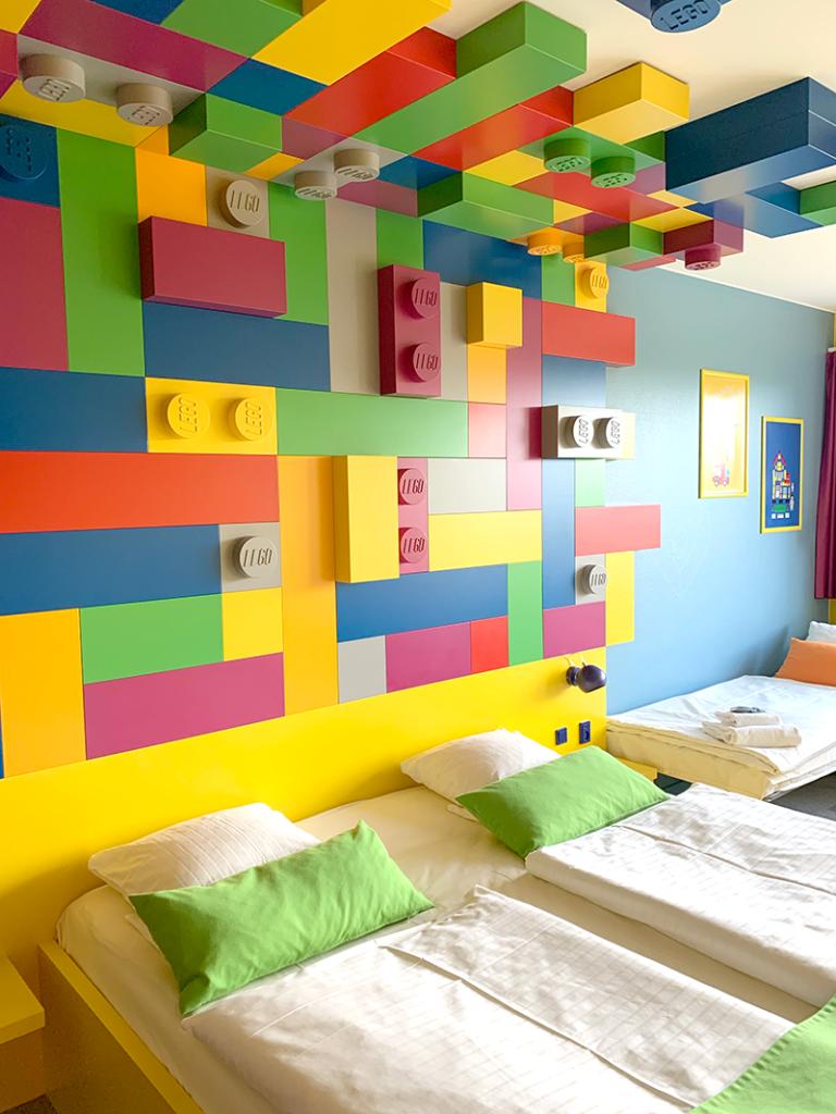 Hotel Legoland - park view rum