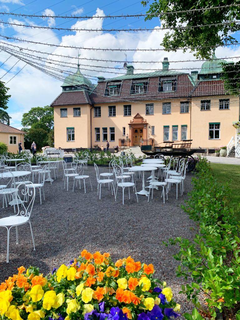 Fika på Såstaholm